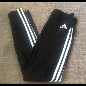 Striped adidas legging